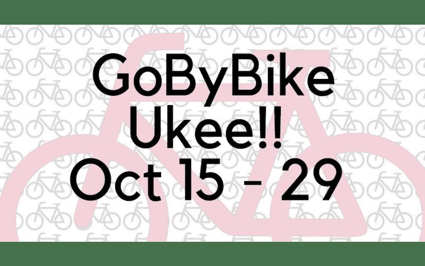 GoByBike Week Ukee